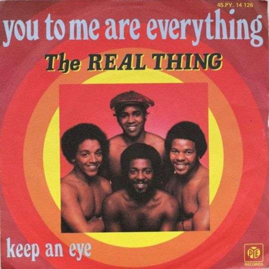 Coverafbeelding You To Me Are Everything - The Real Thing