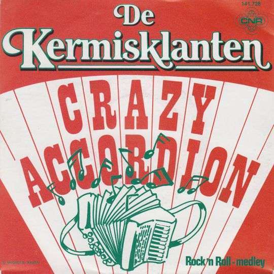 Coverafbeelding Crazy Accordion - De Kermisklanten