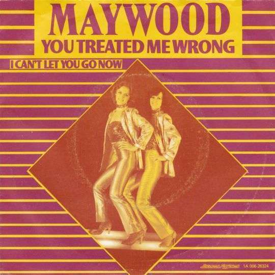 Coverafbeelding You Treated Me Wrong - Maywood