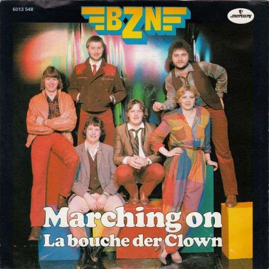 Coverafbeelding Marching On - Bzn