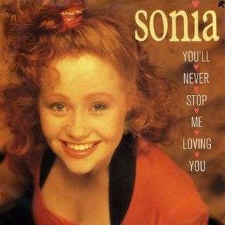 Coverafbeelding Sonia - You'll Never Stop Me Loving You