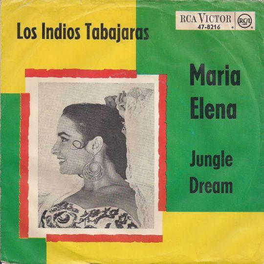 Coverafbeelding Los Indios Tabajaras - Maria Elena