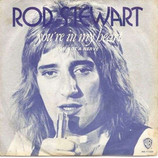 Coverafbeelding You're In My Heart - Rod Stewart