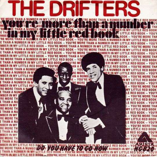Coverafbeelding You're More Than A Number In My Little Red Book - The Drifters