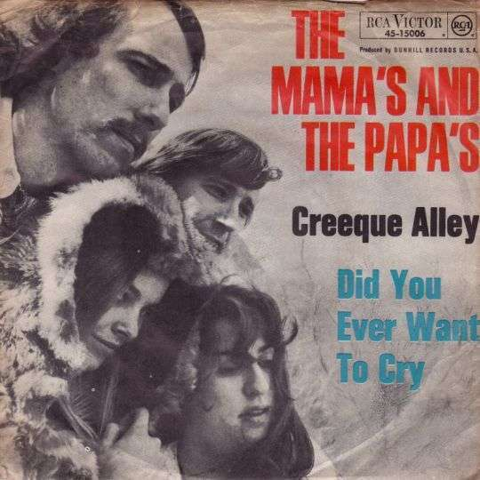 Coverafbeelding The Mama's and The Papa's - Creeque Alley