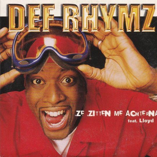 Coverafbeelding Ze Zitten Me Achterna - Def Rhymz Feat. Lloyd