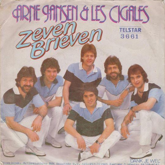 Coverafbeelding Zeven Brieven - Arne Jansen & Les Cigales