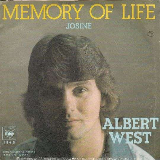 Coverafbeelding Memory Of Life - Albert West