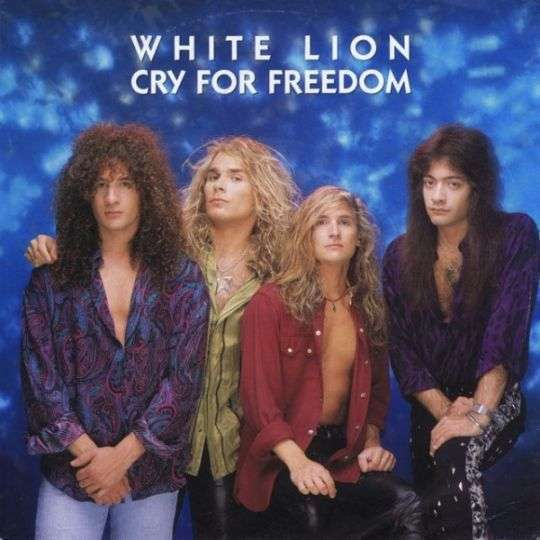 Coverafbeelding White Lion - Cry For Freedom