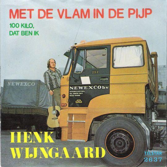 Coverafbeelding Met De Vlam In De Pijp - Henk Wijngaard