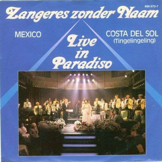 Coverafbeelding Mexico - Live In Paradiso - Zangeres Zonder Naam