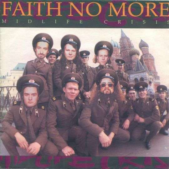 Coverafbeelding Midlife Crisis - Faith No More