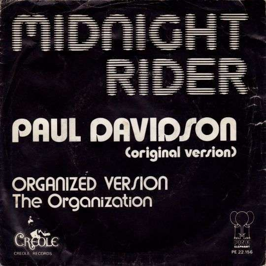 Coverafbeelding Paul Davidson - Midnight Rider