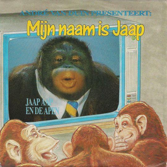 Coverafbeelding Mijn Naam Is Jaap - André Van Duin Presenteert: Jaap Aap En De Apen