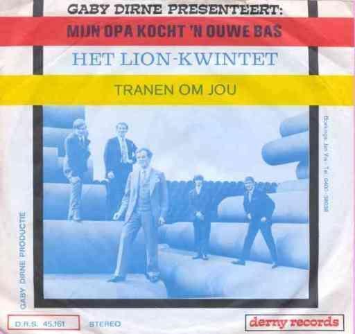 Coverafbeelding Mijn Opa Kocht 'n Ouwe Bas - Gaby Dirne Presenteert: Het Lion-Kwintet