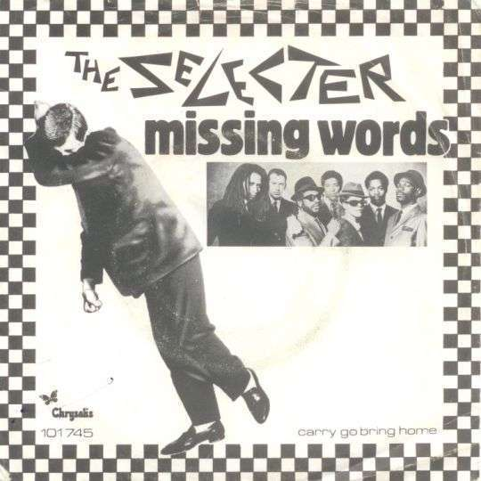 Coverafbeelding The Selecter - Missing Words