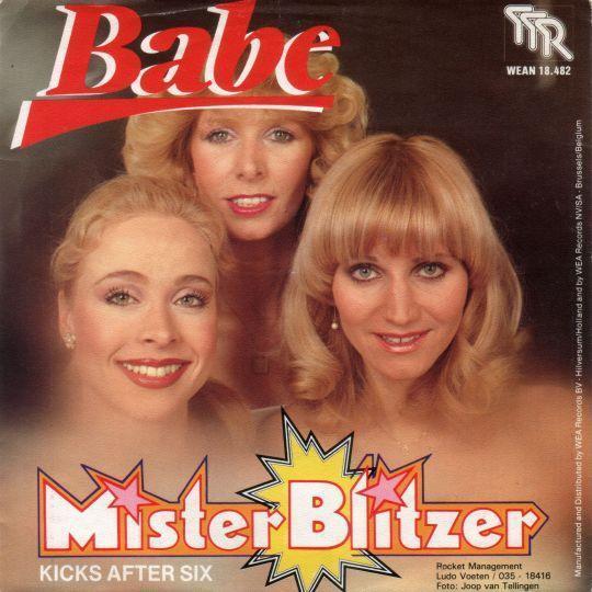 Coverafbeelding Mister Blitzer - Babe