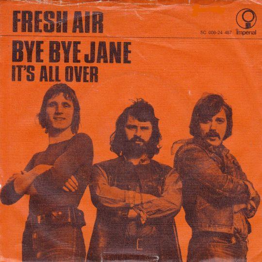 Coverafbeelding Fresh Air - Bye Bye Jane