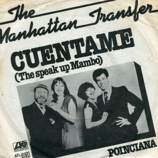 Coverafbeelding Cuentame (The Speak Up Mambo) - The Manhattan Transfer