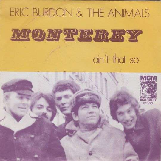 Coverafbeelding Monterey - Eric Burdon & The Animals