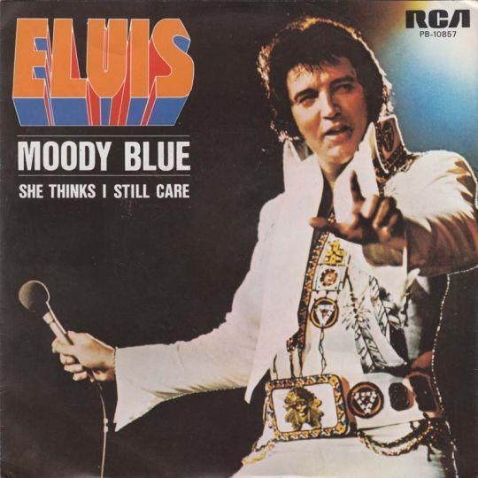 Coverafbeelding Moody Blue - Elvis Presley