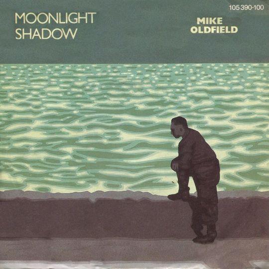 Coverafbeelding Mike Oldfield - Moonlight Shadow