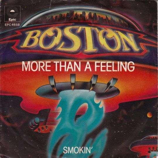 Coverafbeelding More Than A Feeling - Boston