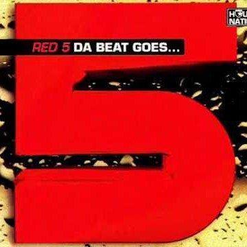 Coverafbeelding Red 5 - Da Beat Goes...