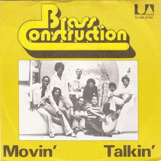 Coverafbeelding Brass Construction - Movin'