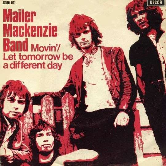 Coverafbeelding Mailer Mackenzie Band - Movin'