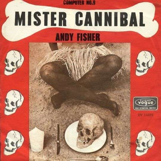 Coverafbeelding Mister Cannibal - Andy Fisher