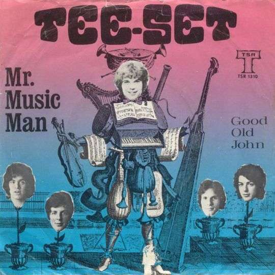 Coverafbeelding Mr. Music Man - Tee-Set
