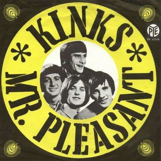 Coverafbeelding Mr. Pleasant - Kinks
