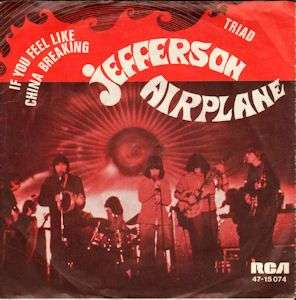 Coverafbeelding Jefferson Airplane - If You Feel Like China Breaking