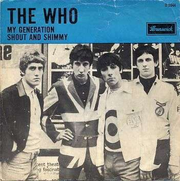 Coverafbeelding My Generation - The Who