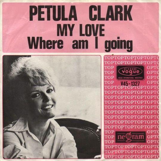 Coverafbeelding My Love - Petula Clark