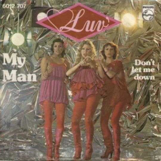 Coverafbeelding My Man - Luv'