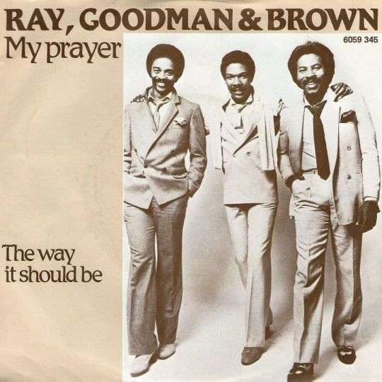 Coverafbeelding My Prayer - Ray, Goodman & Brown
