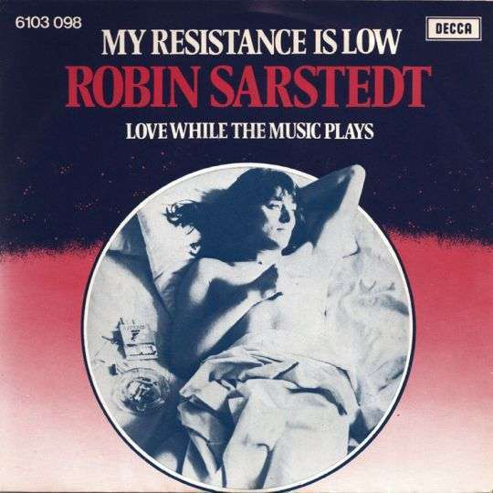 Coverafbeelding Robin Sarstedt - My Resistance Is Low