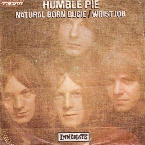 Coverafbeelding Humble Pie - Natural Born Bugie