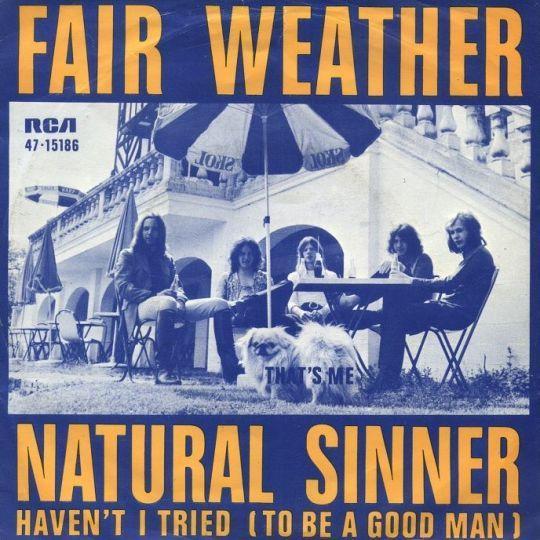 Coverafbeelding Fair Weather - Natural Sinner