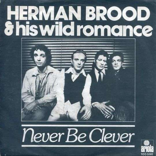 Coverafbeelding Never Be Clever - Herman Brood & His Wild Romance