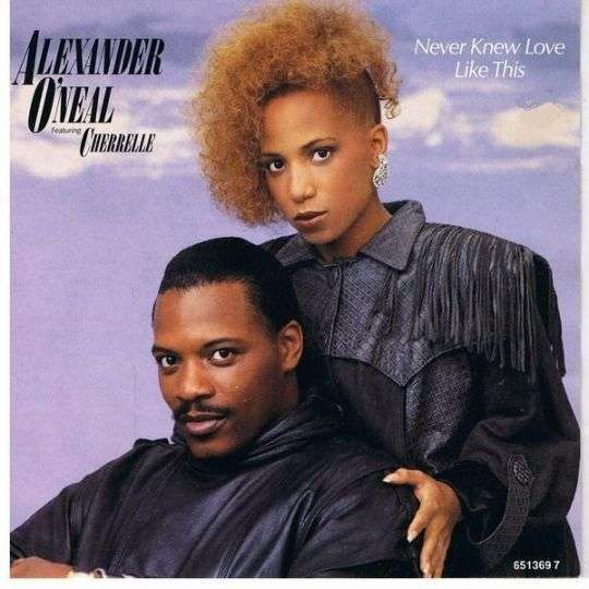 Coverafbeelding Never Knew Love Like This - Alexander O'neal Featuring Cherrelle