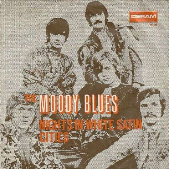 Coverafbeelding Nights In White Satin - The Moody Blues