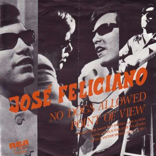 Coverafbeelding No Dogs Allowed - José Feliciano