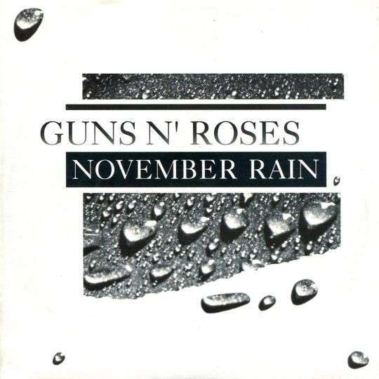 Coverafbeelding November Rain - Guns N' Roses