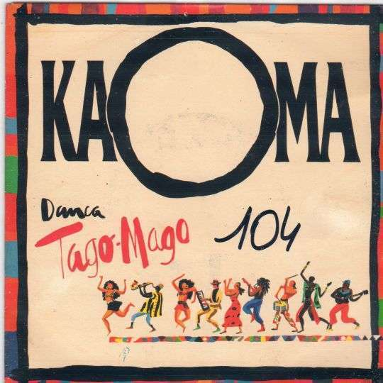 Coverafbeelding Danca Tago-mago - Kaoma