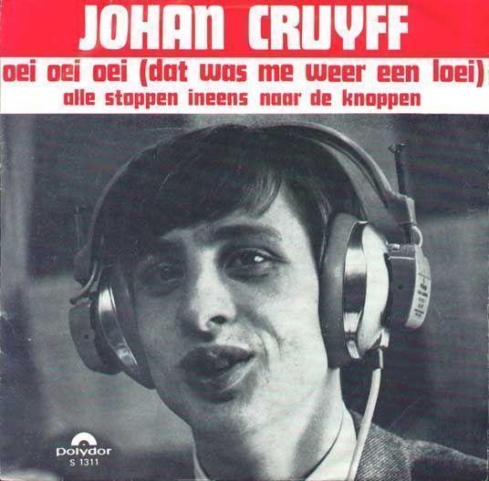 Coverafbeelding Johan Cruyff - Oei Oei Oei (Dat Was Me Weer Een Loei)