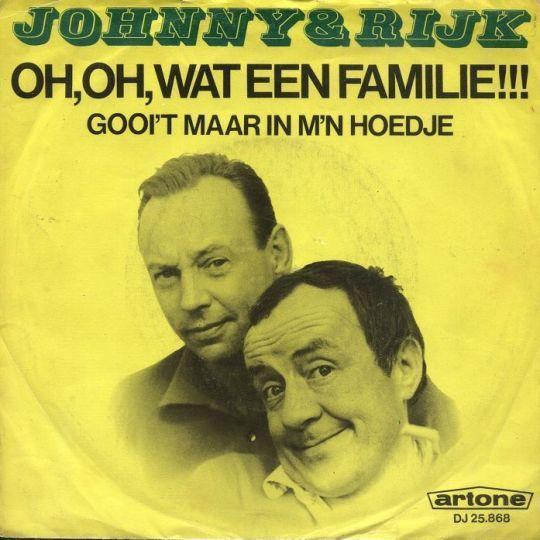 Coverafbeelding Oh, Oh, Wat Een Familie!!! - Johnny & Rijk