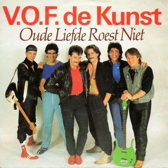 Coverafbeelding Oude Liefde Roest Niet - V.o.f. De Kunst
